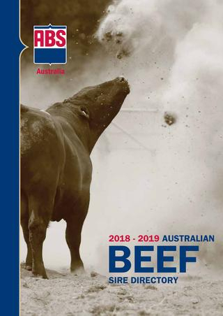 Abs Australia 2018 19 Beef Sire Directoryabs Global, Inc (Image 1 of 25)