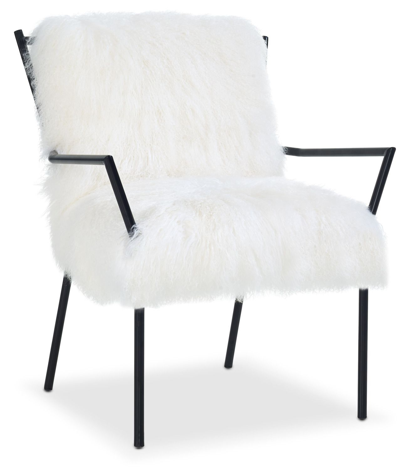 Accent And Occasional Furniture – Lara Accent Chair – Black And With Regard To Circuit Swivel Accent Chairs (View 6 of 25)