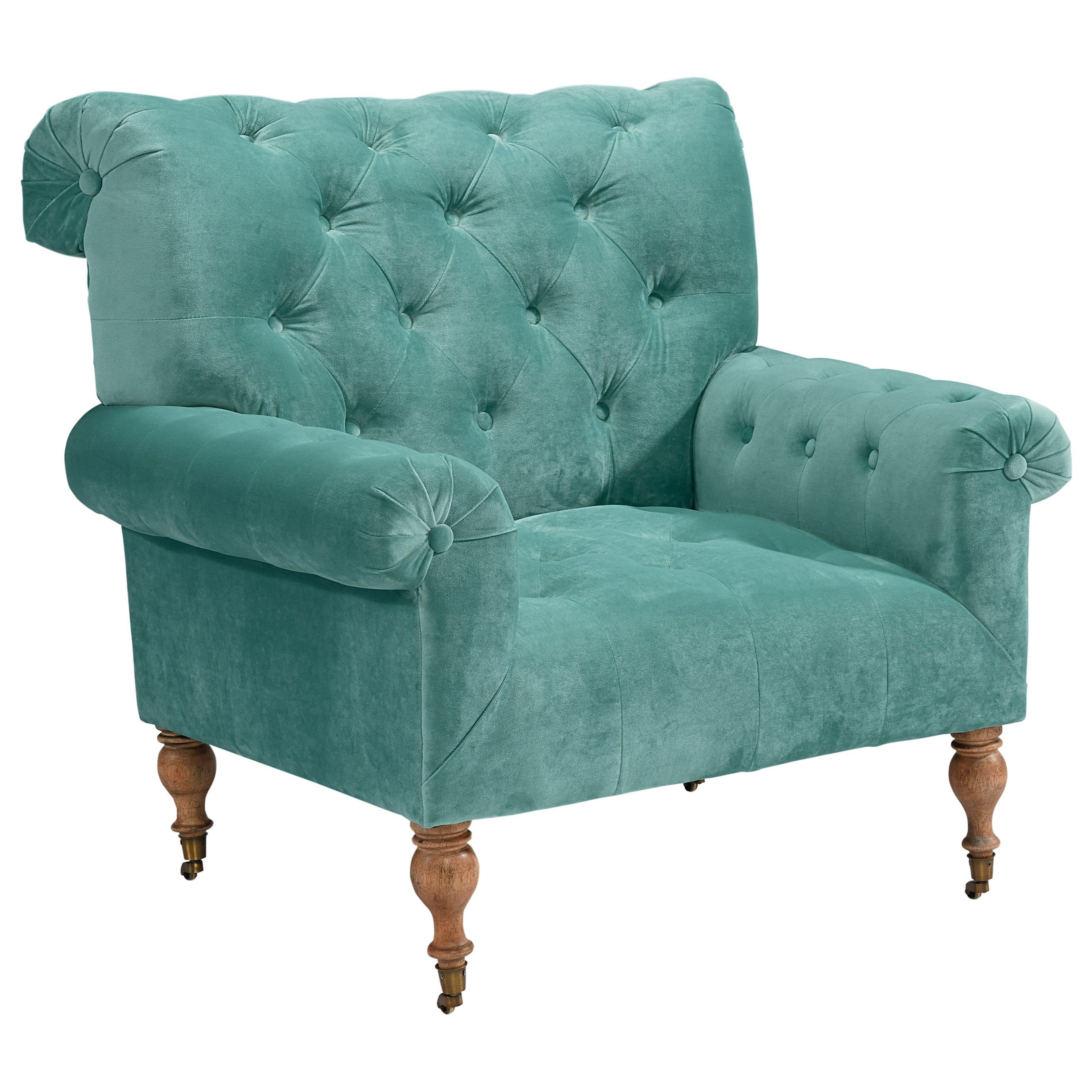 Accent Chairs Caster Piano Chairmagnolia Homejoanna Gaines Regarding Magnolia Home Ravel Linen Sofa Chairs (Image 2 of 25)