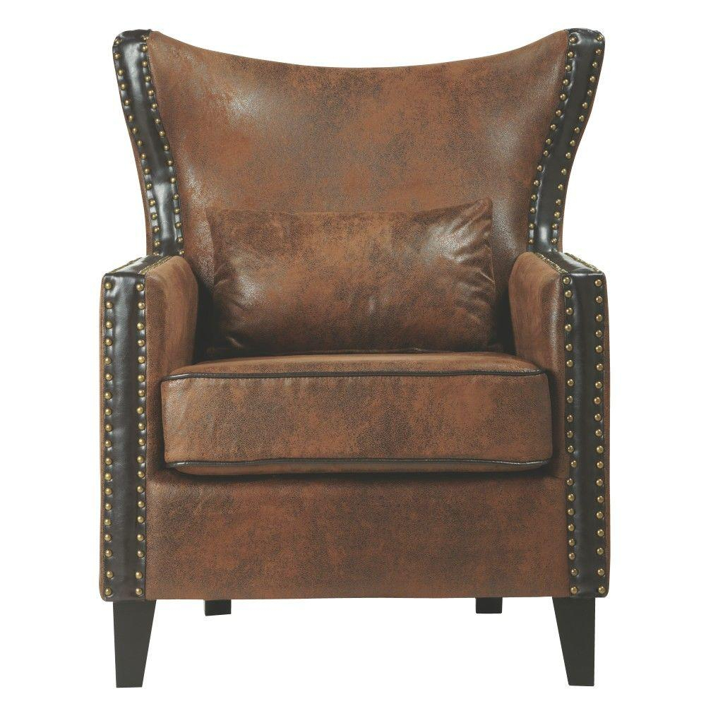 Accent Chairs – Chairs – The Home Depot With Devon Ii Swivel Accent Chairs (View 9 of 25)
