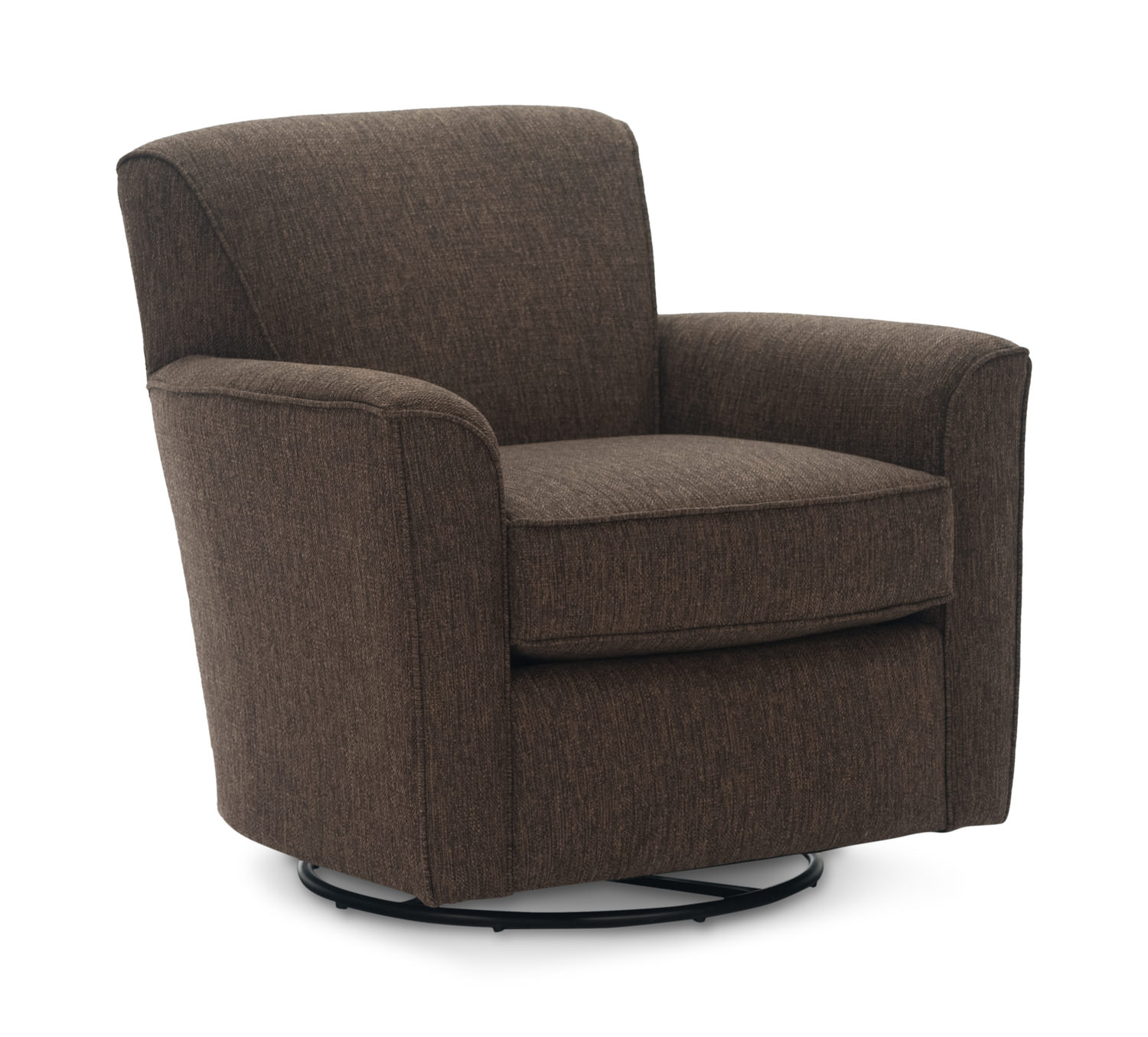 Accent Chairs & Chaises – Living Room – Hom Furniture For Manor Grey Swivel Chairs (Image 3 of 25)