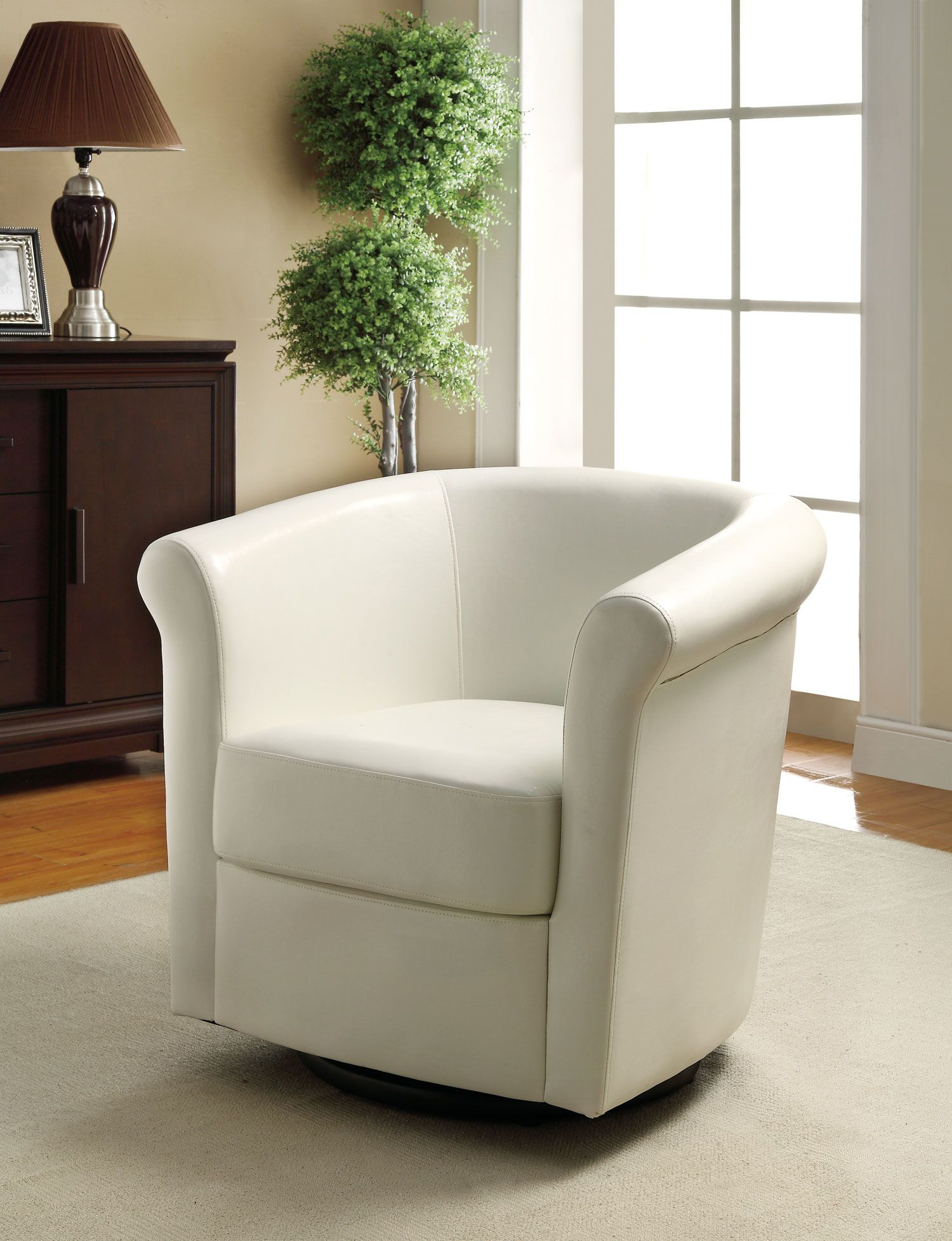 Accent Chairs For Living Room | 902087 Barrel Back Swivel Accent For Twirl Swivel Accent Chairs (Image 2 of 25)
