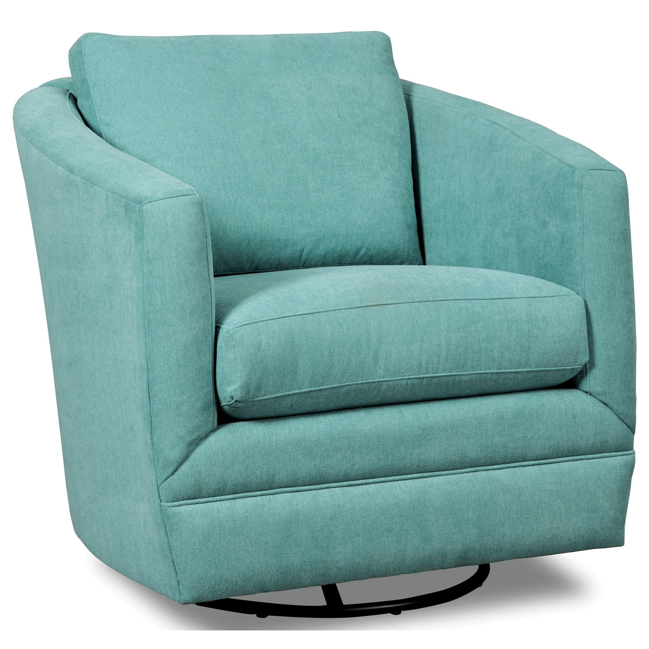Accent Chairs Swivel Barrel Chair | Stoney Creek Furniture For Umber Grey Swivel Accent Chairs (View 24 of 25)