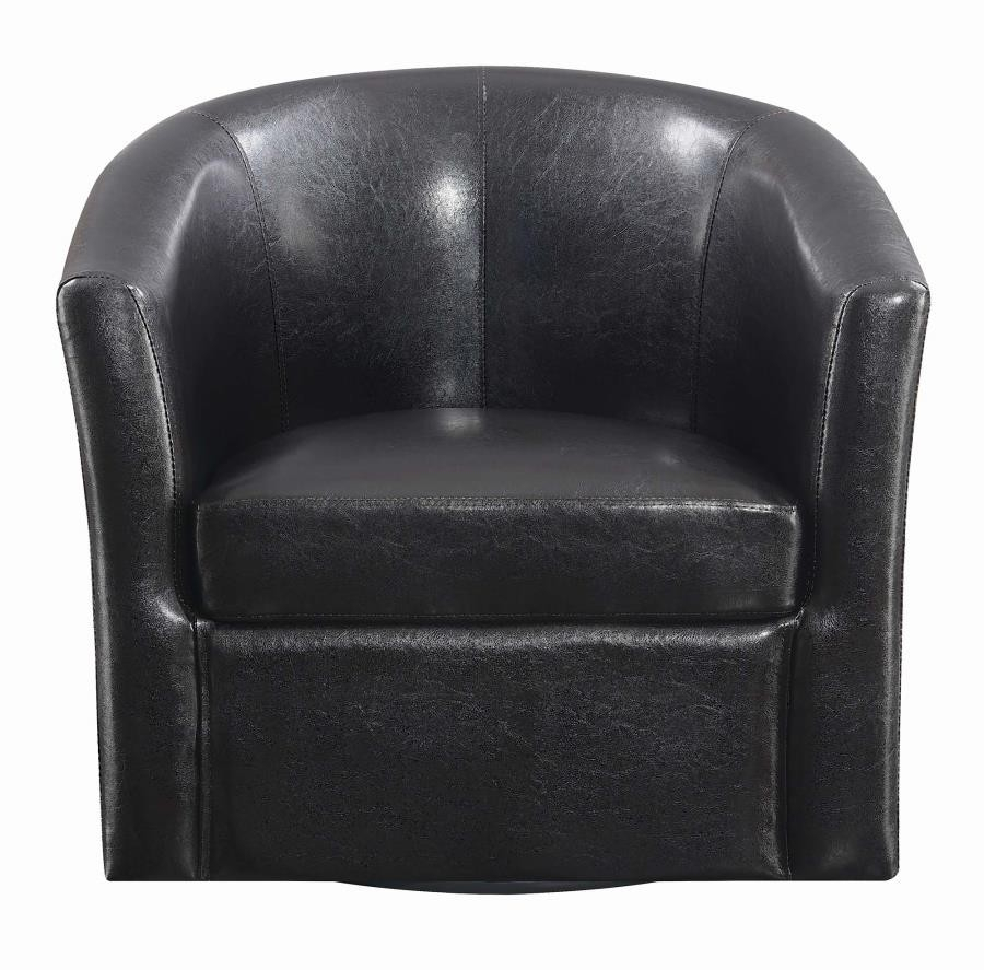 Accents : Chairs – Accent Chair | 902098 | Chairs | Furniture World (Wa) Inside Harbor Grey Swivel Accent Chairs (Image 3 of 25)