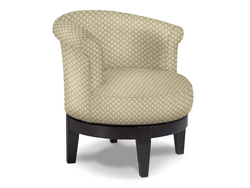 Addison Round Swivel Chair Low Profile | Fun Accent Chairs | Abode Throughout Umber Grey Swivel Accent Chairs (View 19 of 25)