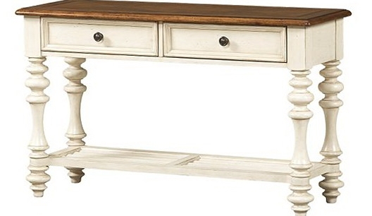 Featured Image of Antique White Distressed Console Tables