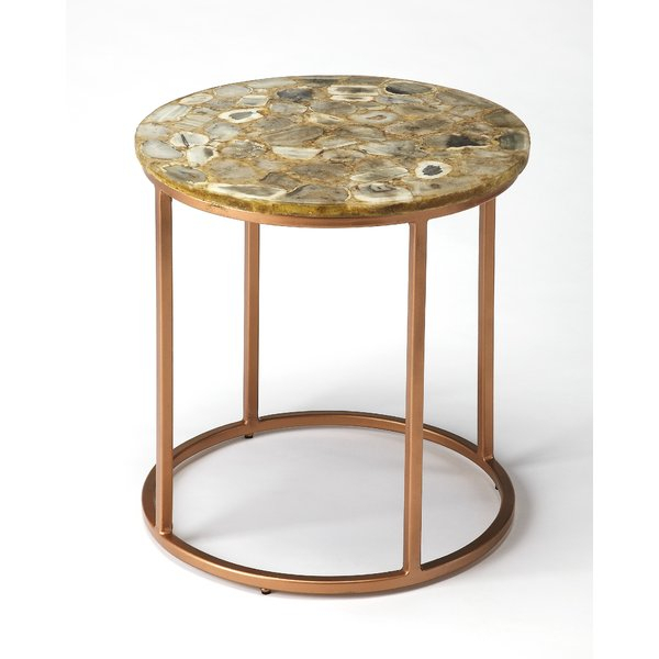 Agate Side Table (Image 5 of 25)
