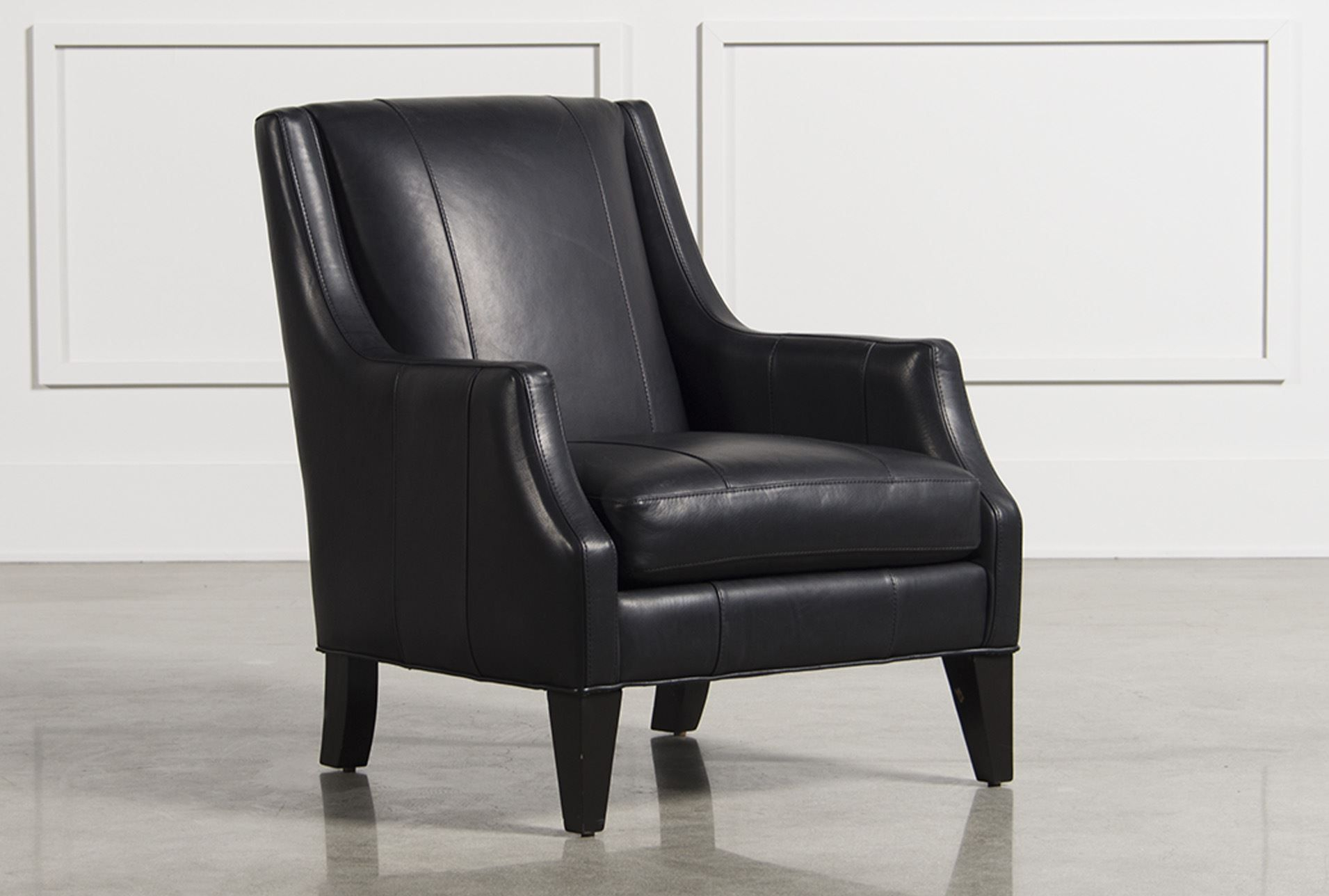 Aidan Leather Accent Chair | Home Decor | Pinterest | Stühle Throughout Aidan Ii Swivel Accent Chairs (View 2 of 25)