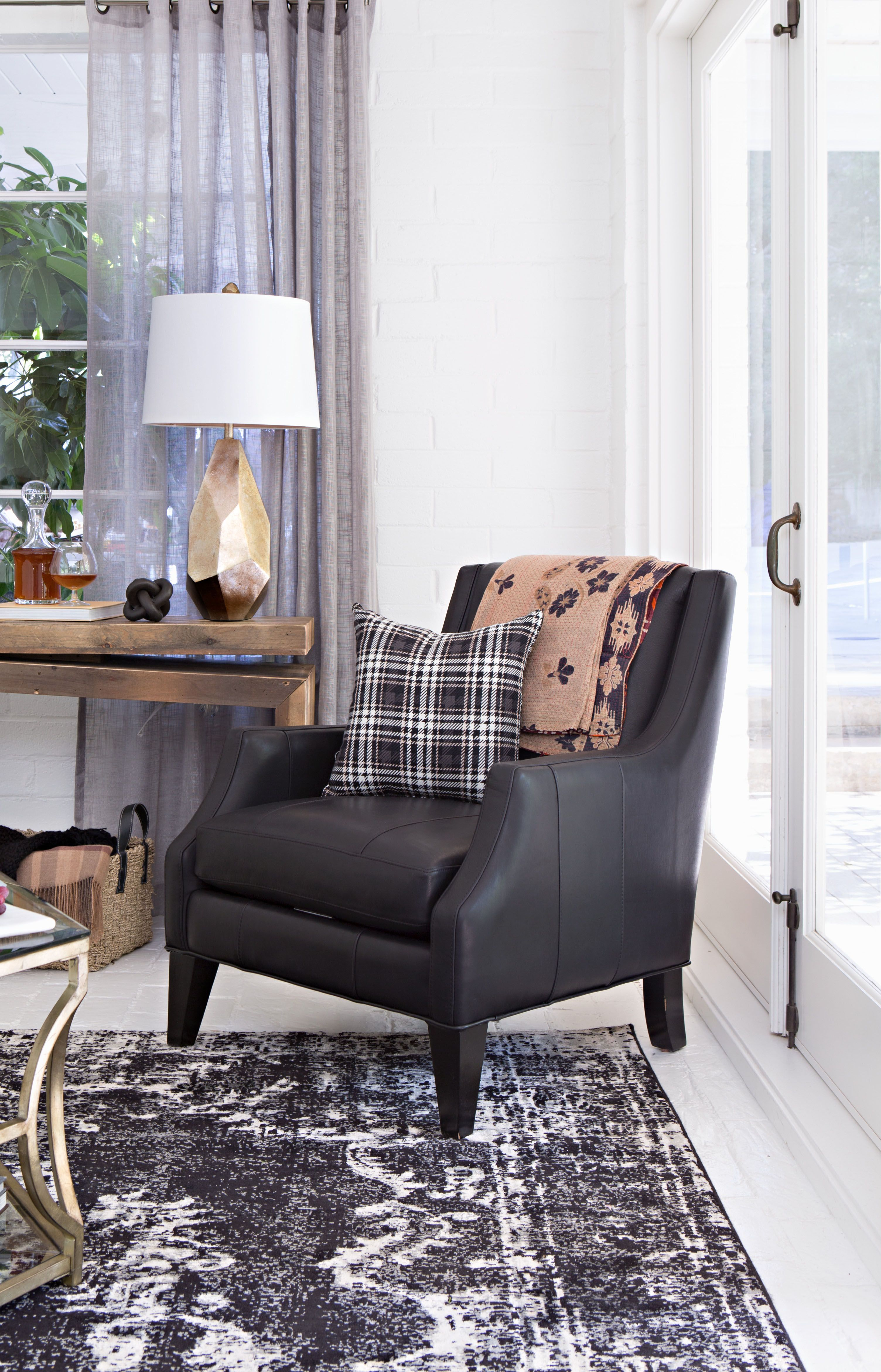 Aidan Leather Accent Chair In 2018 | Living Spaces Arica | Pinterest Intended For Aidan Ii Sofa Chairs (Image 12 of 25)