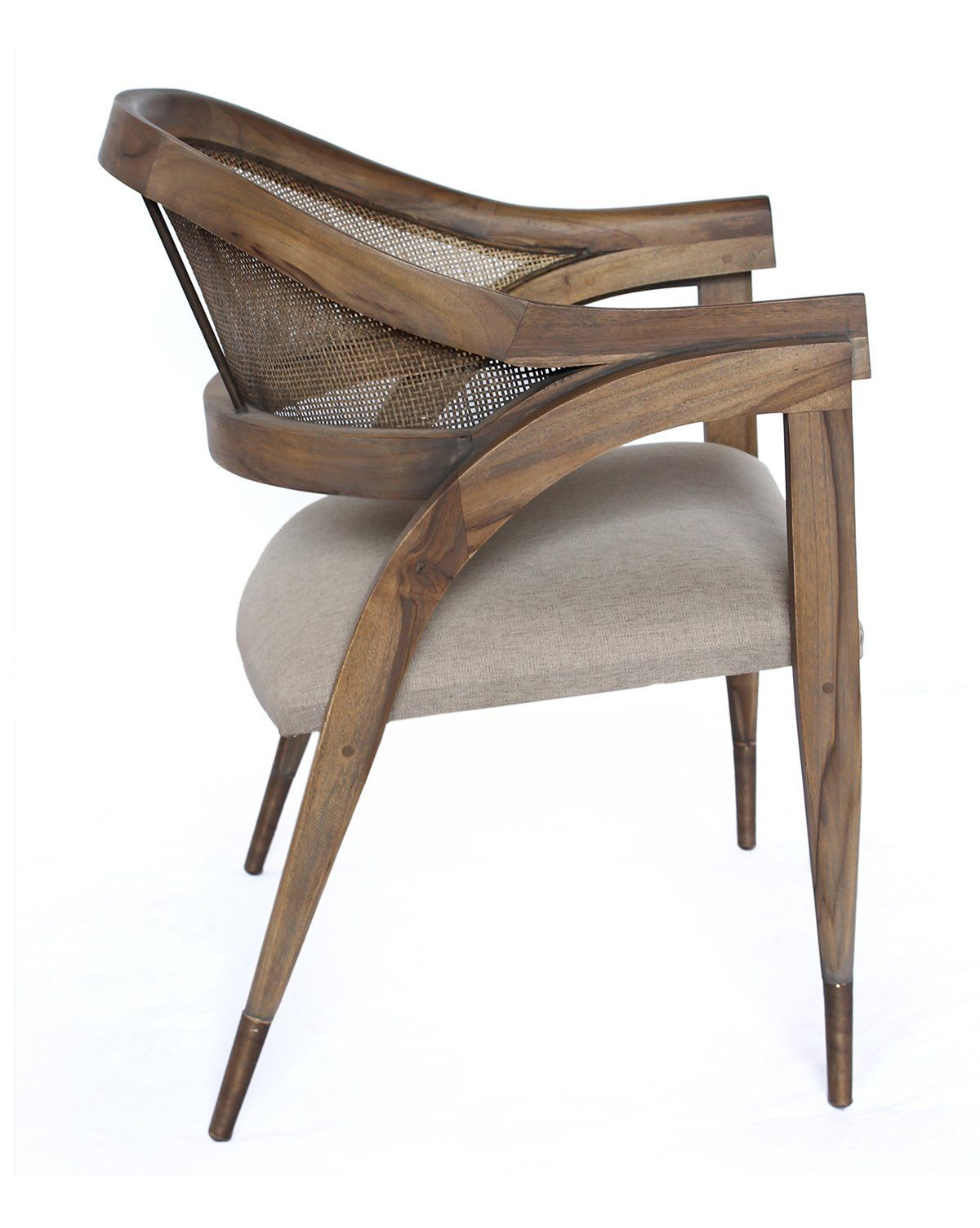 Aiden Chair – Teak & Brass | 椅子 Chair | Chair, Dining Chairs In Aidan Ii Sofa Chairs (Image 21 of 25)