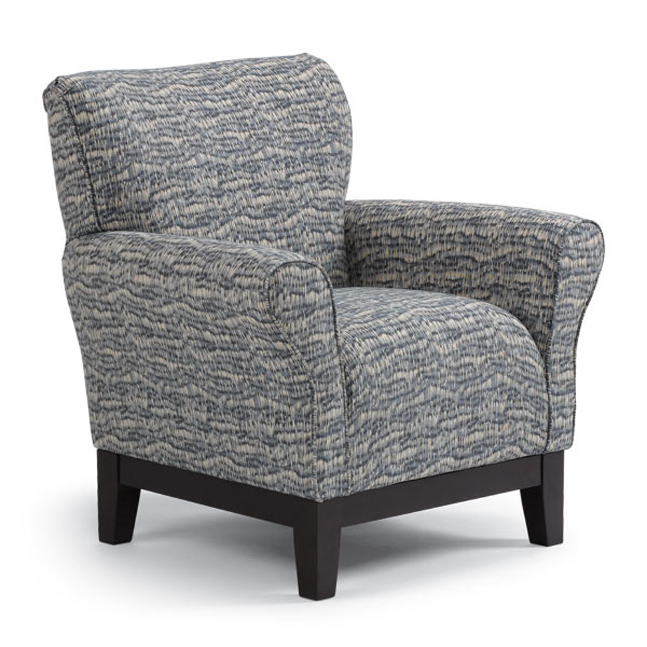Aiden Club Chair – Home Envy Furnishings: Custom Made Furniture Store Pertaining To Aidan Ii Swivel Accent Chairs (View 3 of 25)