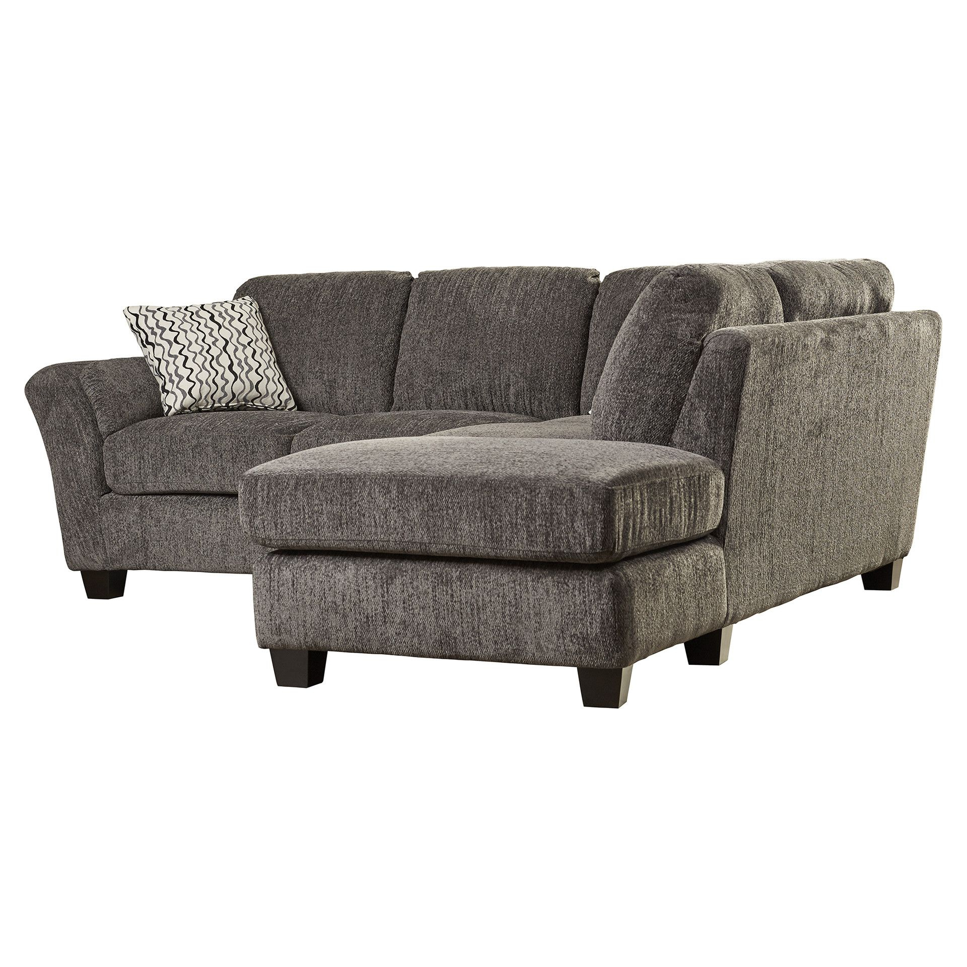 Alcott Hill® Patterson Right Hand Facing Sectional | Couch With Patterson Ii Arm Sofa Chairs (View 9 of 25)