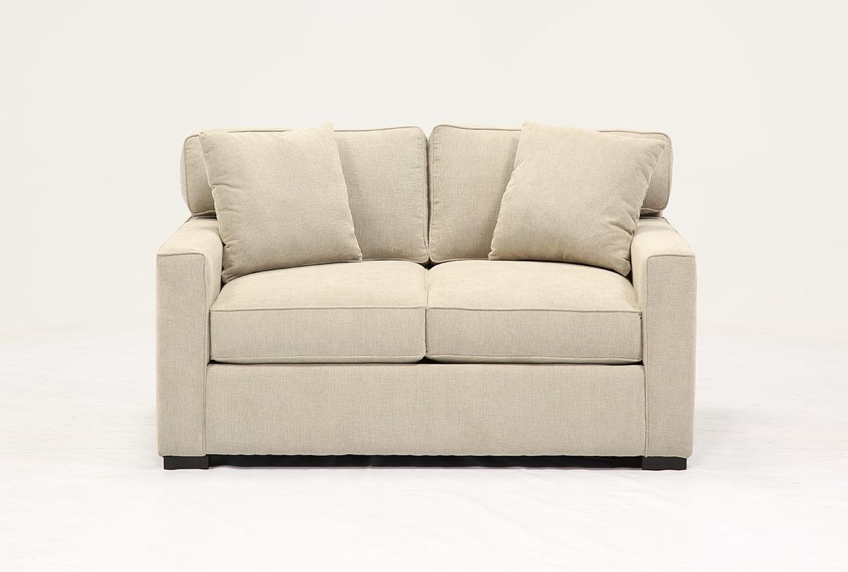 Alder Grande Loveseat | Living Spaces With Alder Grande Ii Sofa Chairs (View 3 of 25)