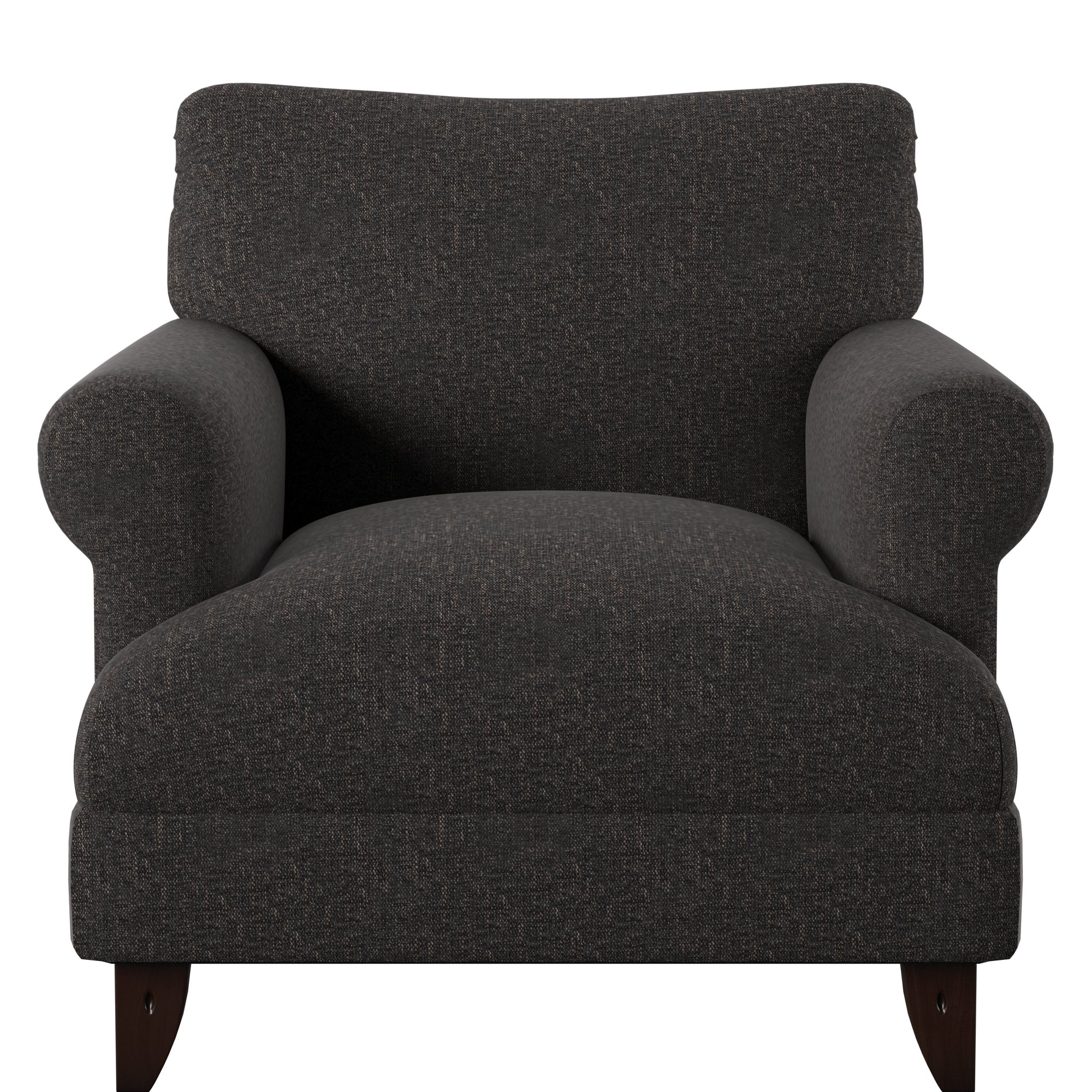 Allie Armchair & Reviews | Joss & Main Throughout Allie Dark Grey Sofa Chairs (Image 2 of 25)