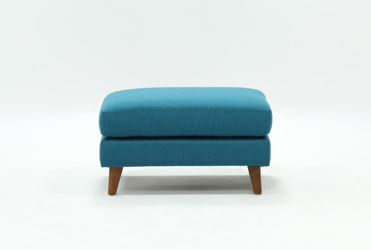 Allie Jade Ottoman | Living Spaces With Allie Jade Sofa Chairs (View 7 of 25)