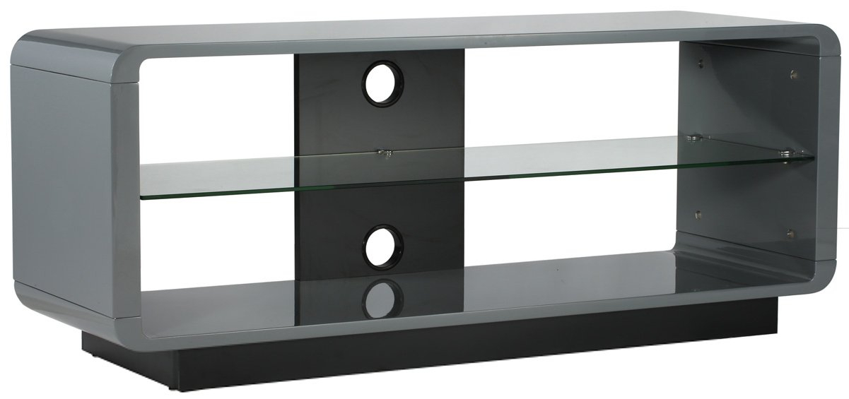 Alphason Adlu1200 Gry Tv Stands With Popular Walton Grey 60 Inch Tv Stands (Image 8 of 25)