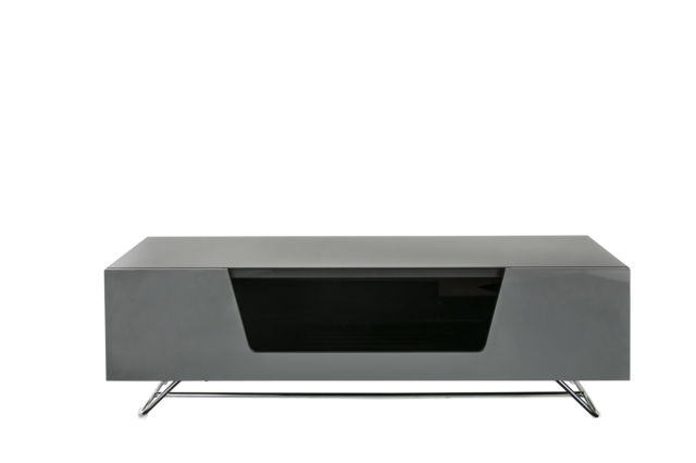Alphason Chromium Grey Gloss Tv Stand 1200Mm (View 8 of 25)