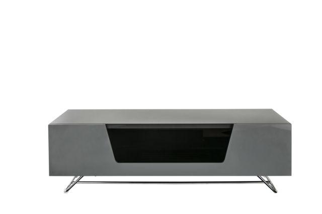 Alphason Chromium Grey Gloss Tv Stand 1200Mm (Image 3 of 25)