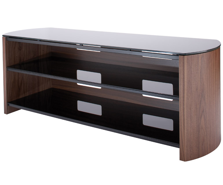 Alphason Finewoods Fw1350 Walnut Tv Stand – Alphason – Audiovisual Inside Well Known Alphason Tv Cabinet (Image 6 of 25)