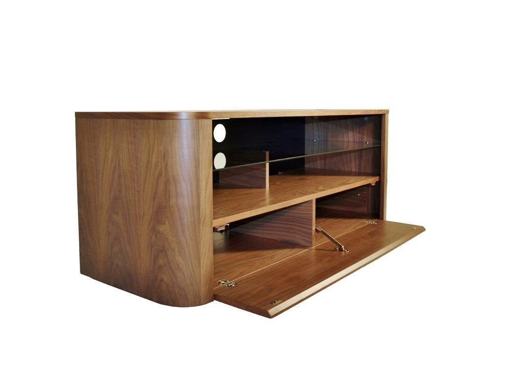 Alphason Hugo Adh1260 Walnut Soundbar Ready Tv Cabinet - Alphason pertaining to Well-liked Alphason Tv Cabinet