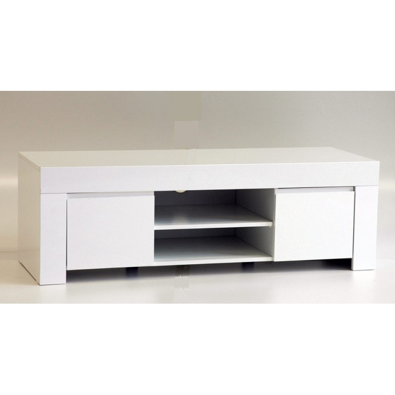Amalia 140Cm High Gloss Tv Stand – Tv Stands (1805) – Sena Home Within Most Up To Date Black Gloss Tv Stands (Image 2 of 25)