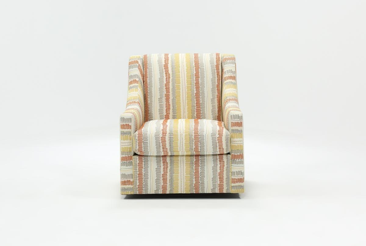 Amari Swivel Accent Chair | Living Spaces Inside Devon Ii Swivel Accent Chairs (View 23 of 25)