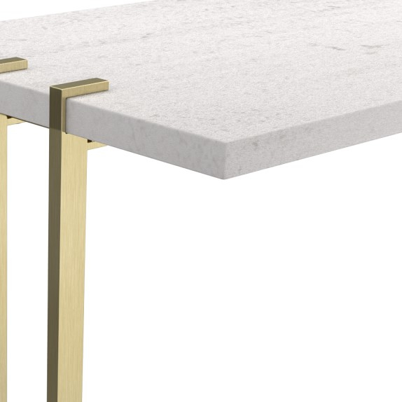 Amazing Marble Console Table With Marble Brass Console Table Pertaining To Trendy Elke Marble Console Tables With Brass Base (Image 6 of 25)