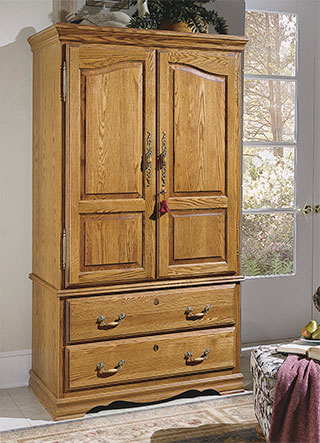 American Made With Most Up To Date Wood Tv Armoire (Image 4 of 25)