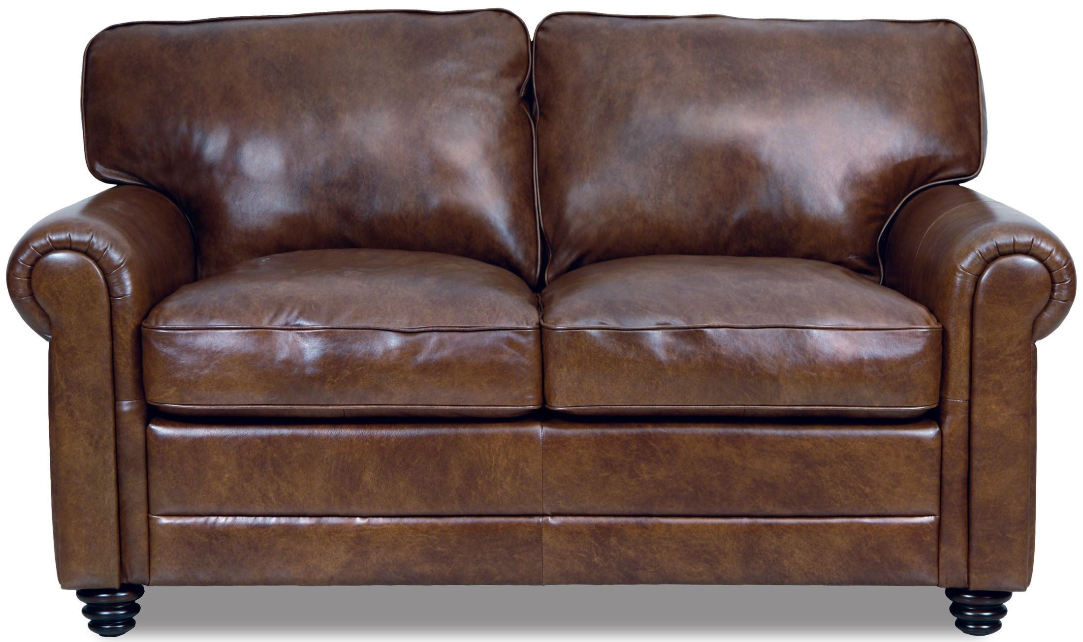 Andrew Leather Loveseat From Luke Leather | Coleman Furniture Inside Andrew Leather Sofa Chairs (Image 8 of 25)