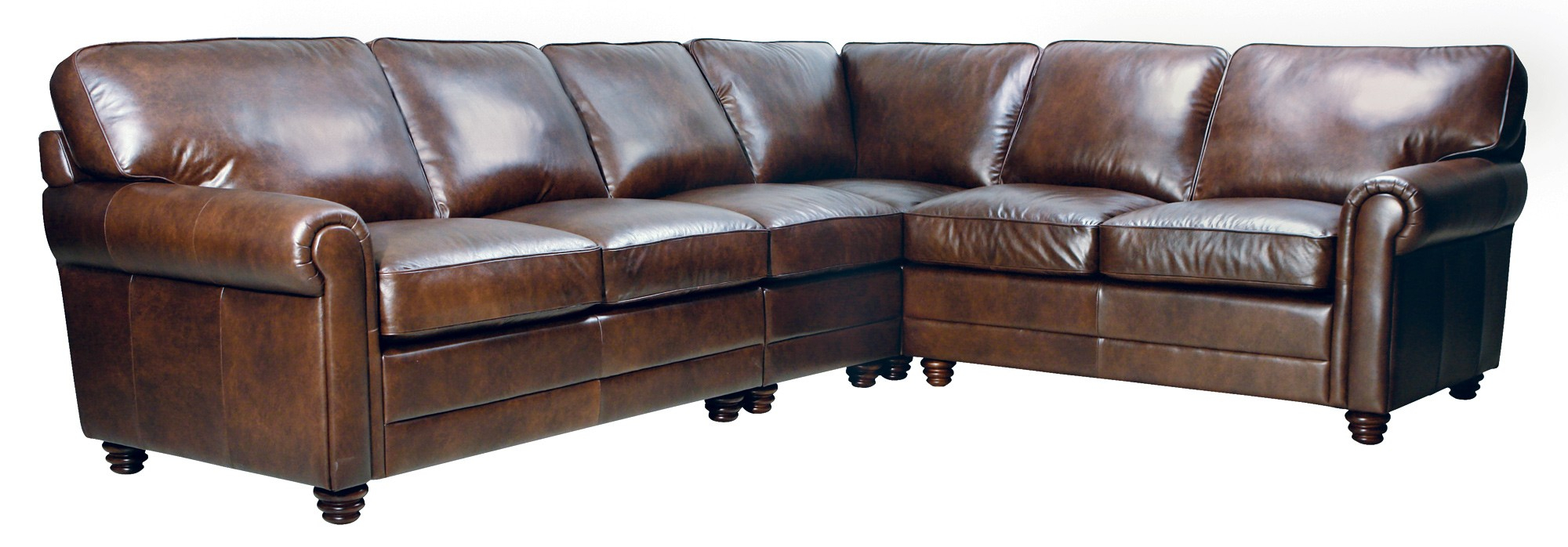Andrew Sectional – Luke Leather Furniture Within Andrew Leather Sofa Chairs (Image 13 of 25)