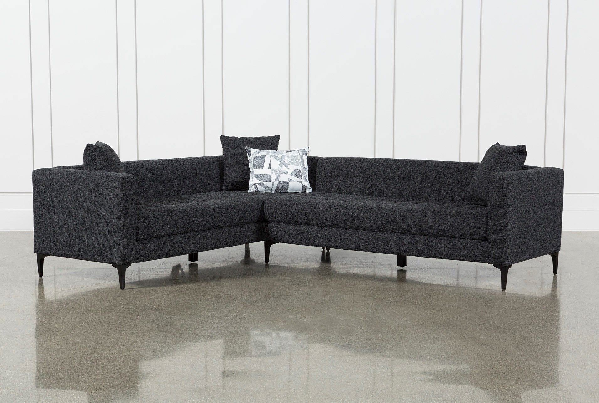 Anson 2 Piece Sectional In 2018 | Decorating | Pinterest | House With Regard To Matteo Arm Sofa Chairs By Nate Berkus And Jeremiah Brent (Image 2 of 25)