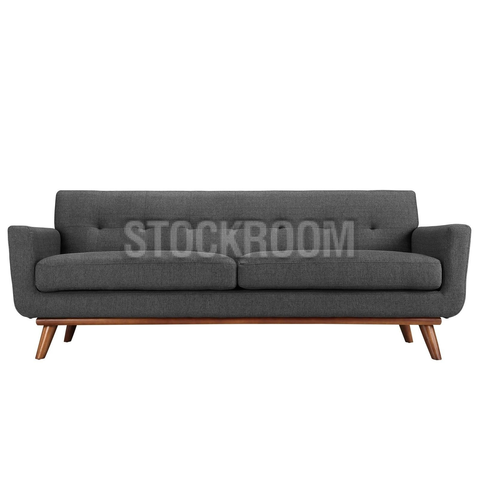 Aquarius Fabric Sofa 2 Seater : Stockroom Hong Kong Contemporary Pertaining To Aquarius Dark Grey Sofa Chairs (Image 6 of 25)