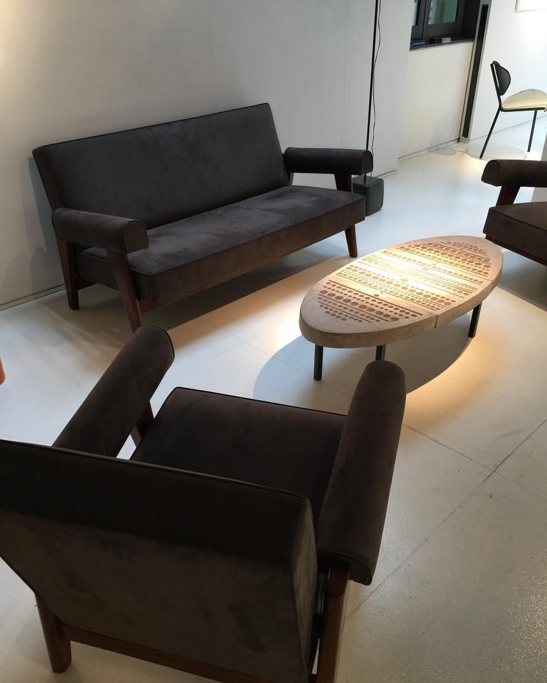 Armchairs And Sofa From The High Court And Assembly, Chandigarh Intended For Gwen Sofa Chairs By Nate Berkus And Jeremiah Brent (View 25 of 25)