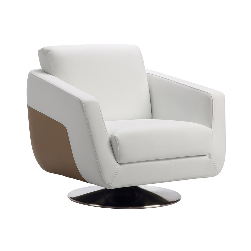 Armondo Sofa Set With Swivel Chair | Zuri Furniture Intended For Chill Swivel Chairs With Metal Base (Image 4 of 25)
