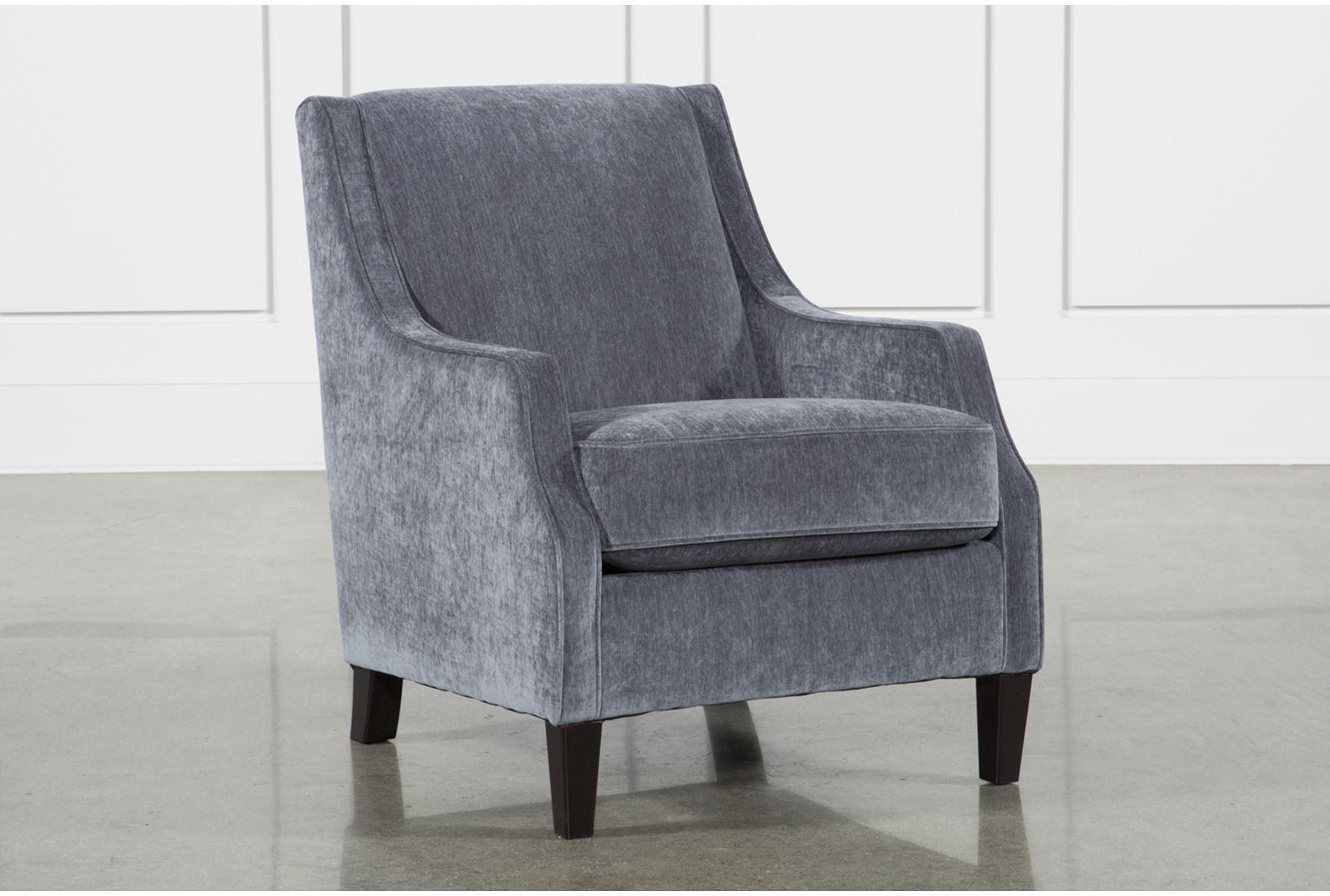Ashley Brumbeck Accent Chair, Blue | Products Pertaining To Sadie Ii Swivel Accent Chairs (View 4 of 25)