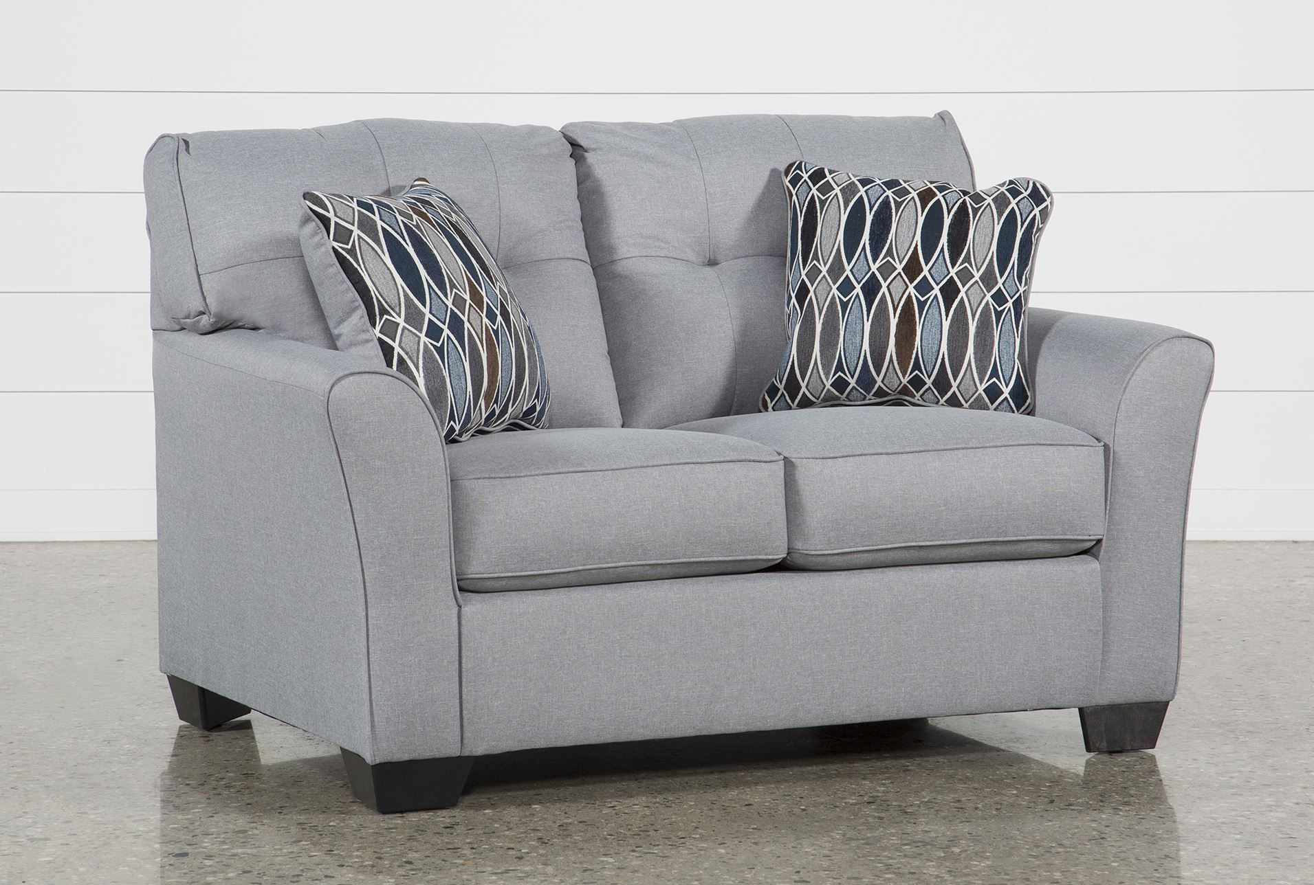 Ashley Chilkoot Smoke Loveseat, Grey, Sofas | Pinterest | Products With Mcdade Ash Sofa Chairs (Image 13 of 25)