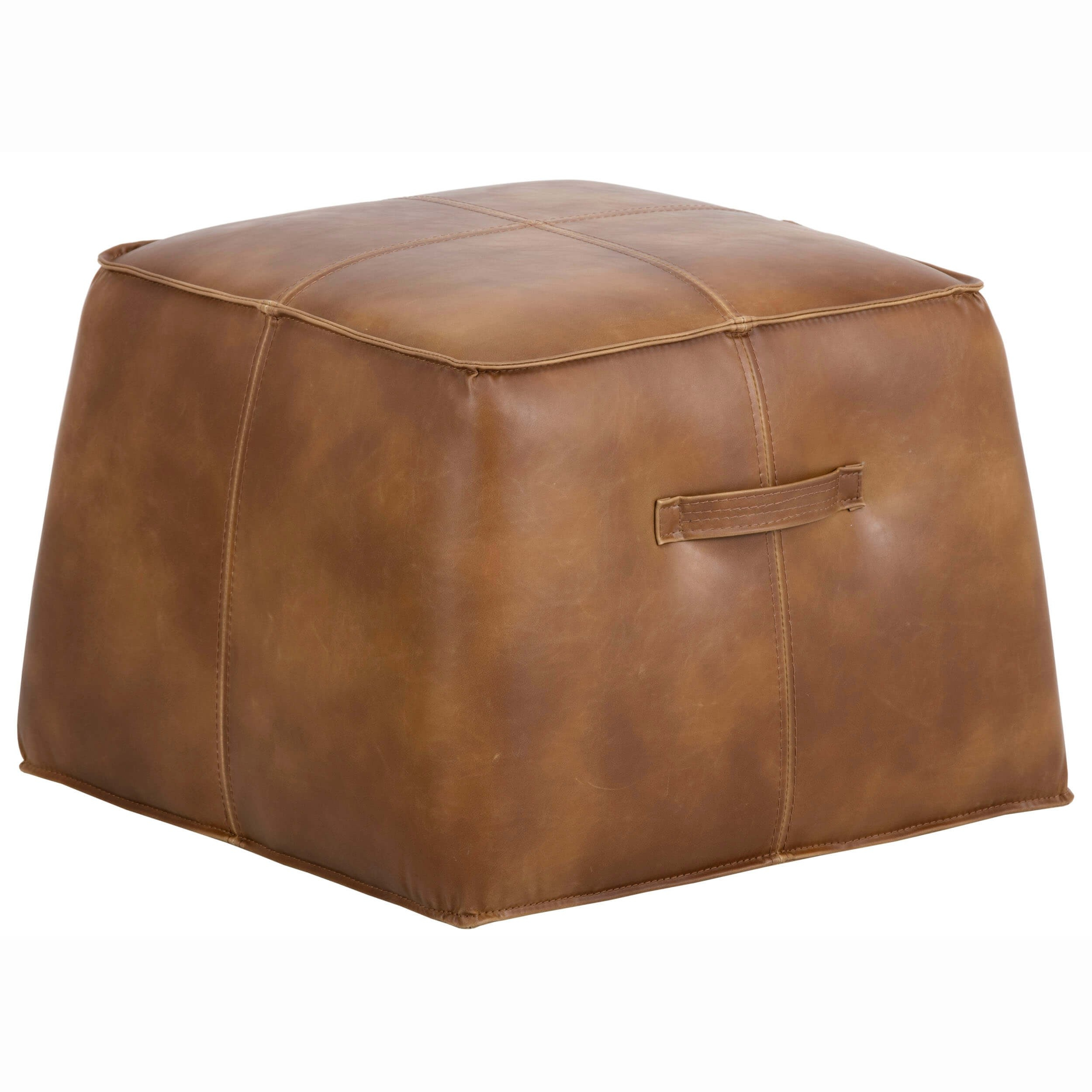 Aspen Ottoman, Tobacco Tan – Ottomans – Chairs – Furniture For Aspen Swivel Chairs (View 18 of 25)