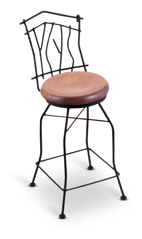 Aspen Swivel Bar Stool | Hom Furniture Inside Aspen Swivel Chairs (View 4 of 25)