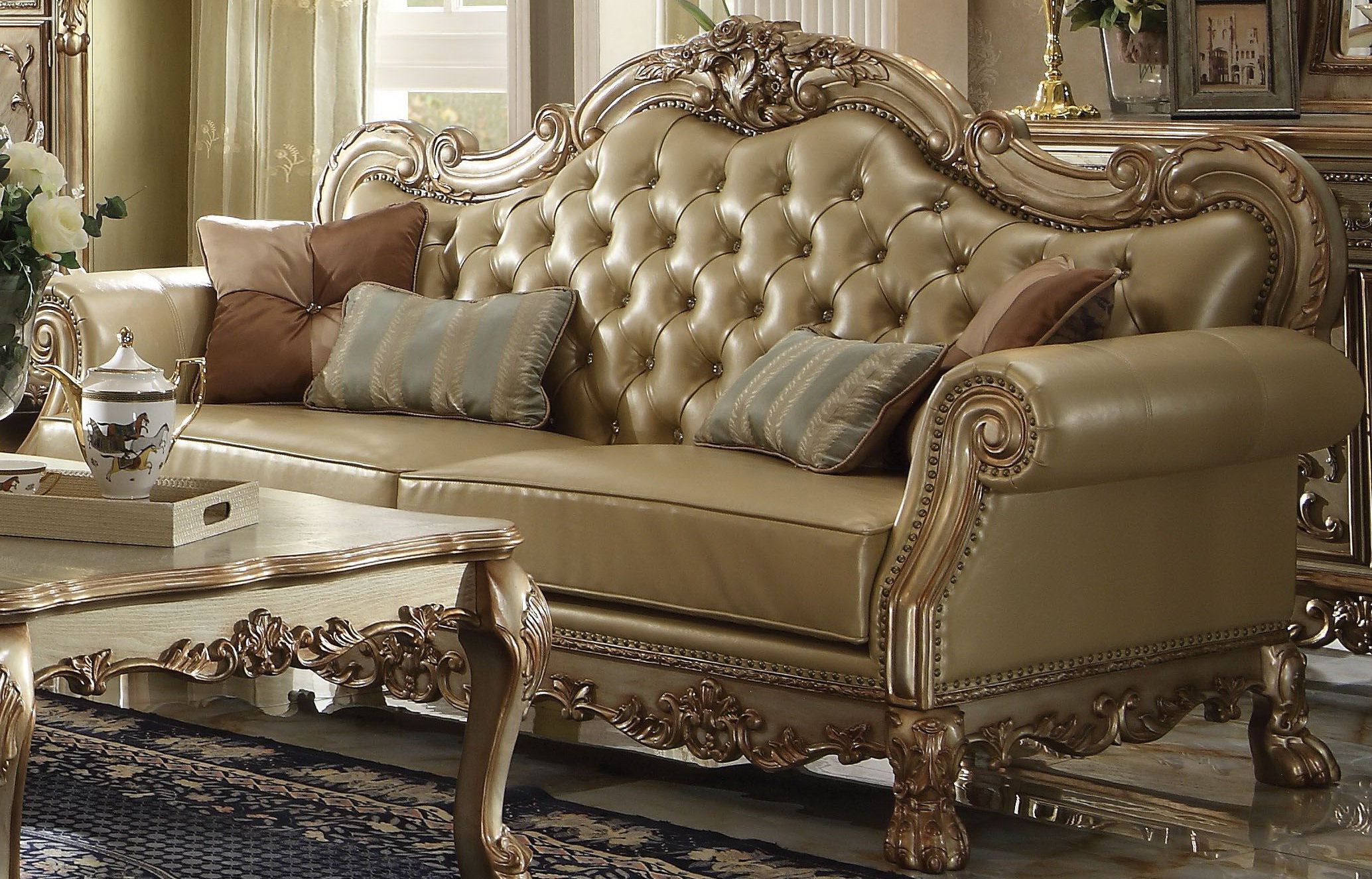 Astoria Grand Marissa Sofa | Wayfair For Marissa Sofa Chairs (Image 2 of 25)