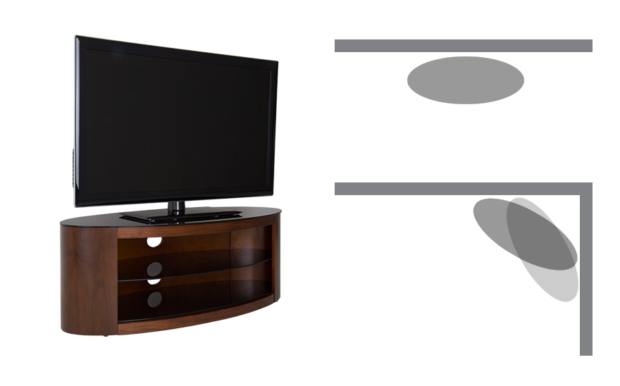 Avf Burghley Fs1250 White Tv Stand Inside Well Known Dixon White 65 Inch Tv Stands (Image 1 of 25)