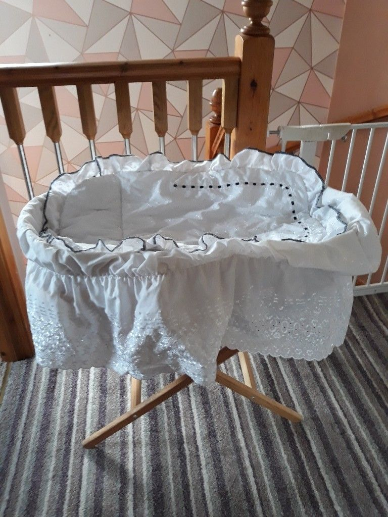 Baby Moses Basket | In Dunmurry, Belfast | Gumtree Pertaining To Kawai Leather Swivel Chairs (Image 3 of 25)