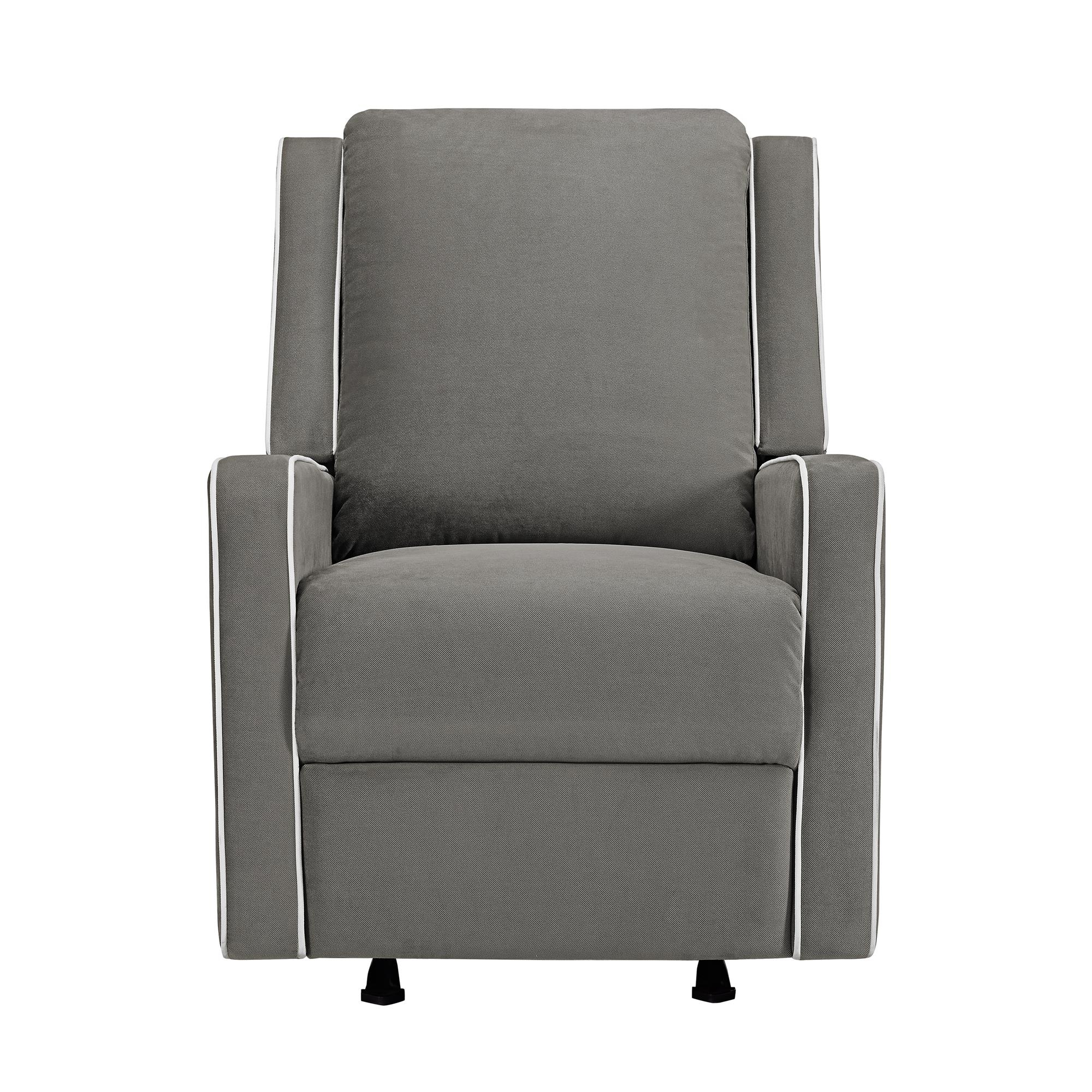 Baby Relax Robyn Rocking Recliner, Graphite Grey – Walmart For Abbey Swivel Glider Recliners (View 11 of 25)