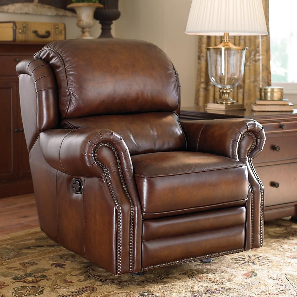 Bassett Newbury Rocker Recliner | For The Home | Recliner, Furniture With Bailey Roll Arm Skirted Swivel Gliders (Image 10 of 25)