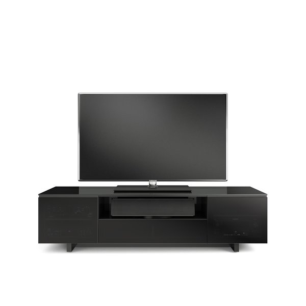 """Bdi Usa Nora Slim Tv Stand For Tvs Up To 75"""" & Reviews (Image 5 of 25)"""