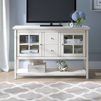 """Beachcrest Home Josie Tv Stand For Tvs Up To 55"""" & Reviews (Image 9 of 25)"""