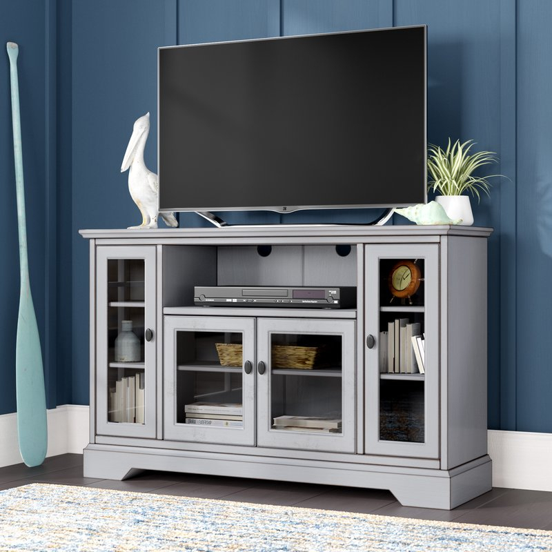 """Beachcrest Home Josie Tv Stand For Tvs Up To 55"""" & Reviews (Image 7 of 25)"""