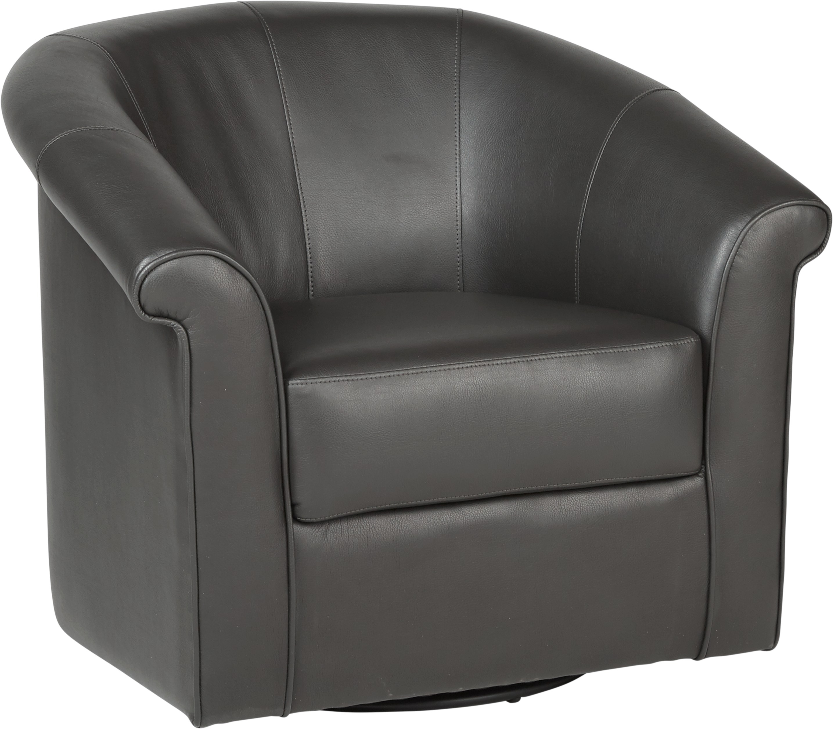 Benning Charcoal Swivel Chair – Chairs (Black) Within Charcoal Swivel Chairs (View 10 of 25)
