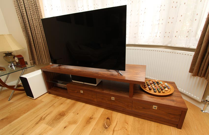 Bespoke Tv And Media Units, Made To Measure Home Enterntainment Regarding Widely Used Bespoke Tv Cabinet (Image 2 of 25)