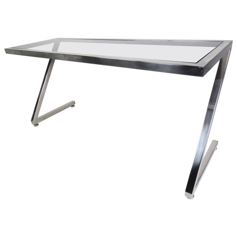 Best And Newest Frame Console Tables In Contemporary Modern Cantilever Z Frame Console Table For Sale At 1Stdibs (Image 4 of 25)