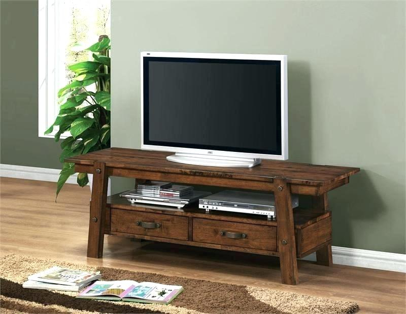 Best And Newest Low Oak Tv Stands Throughout Solid Oak Tv Stand Wood Solid Small Wood Cabinet Stand Solid Wood Tv (Image 1 of 25)